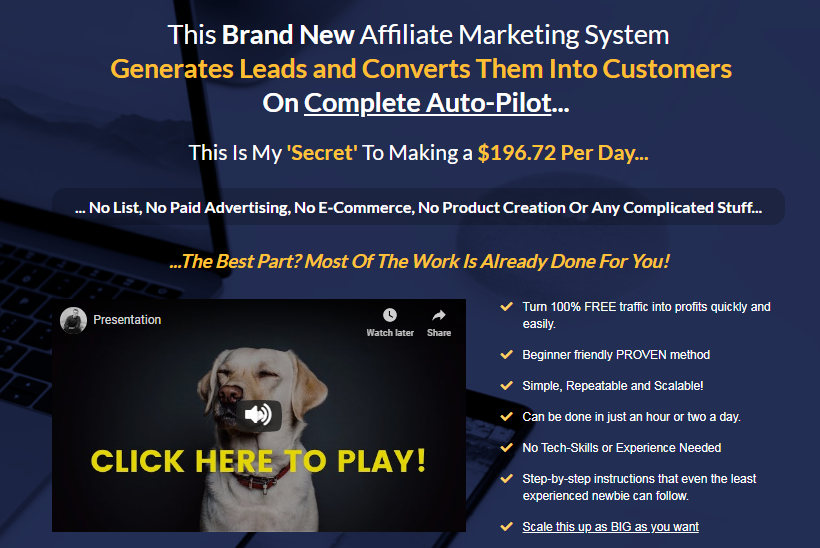 The Attract & Convert System & OTO by Edwin Mik