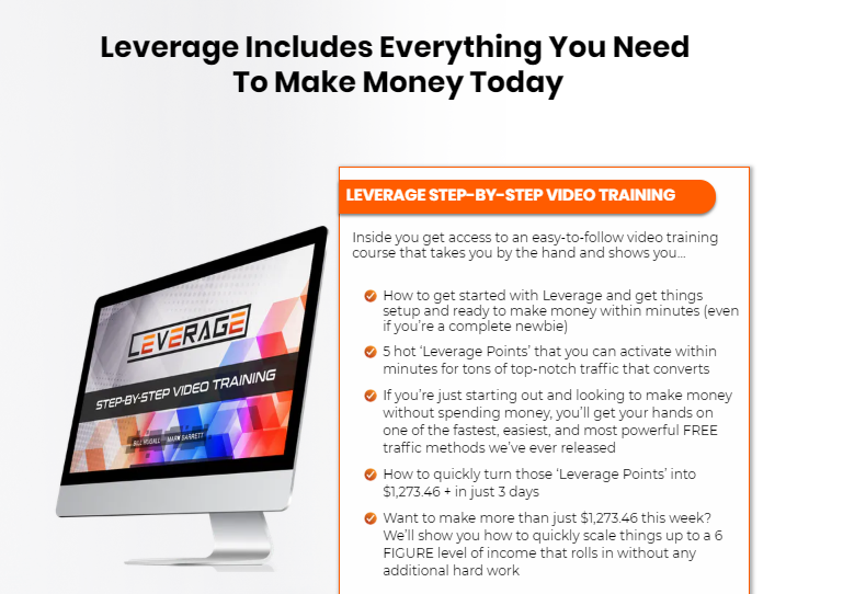 Leverage Training & OTO Review by Bill Hugall