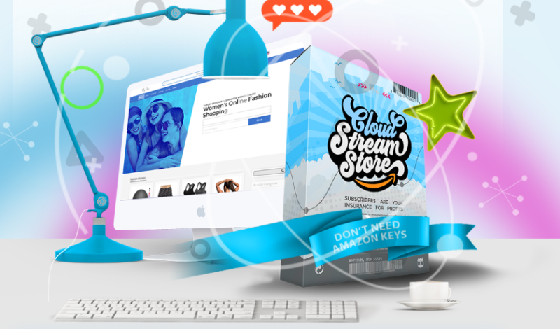 Stream Store 2.0 Cloud & OTO by Ariel Sanders