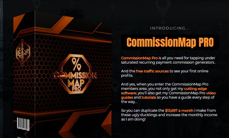 CommissionMap PRO & OTO by Jamie Lewis