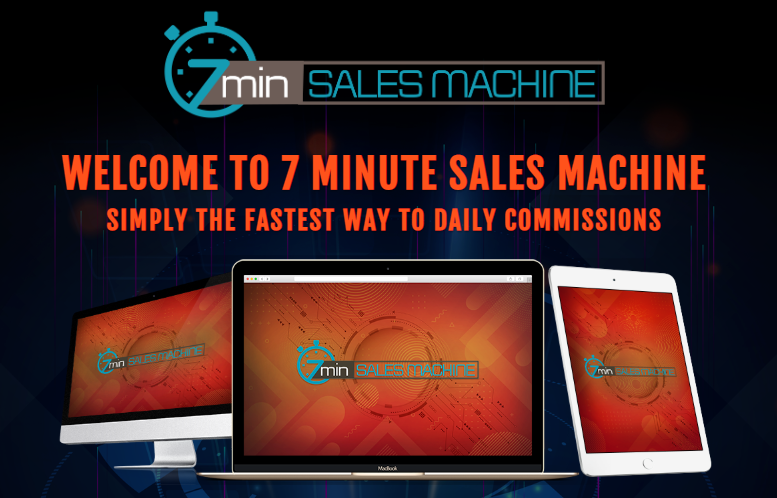 7Min Sales Machine & OTO by Brendan Mace