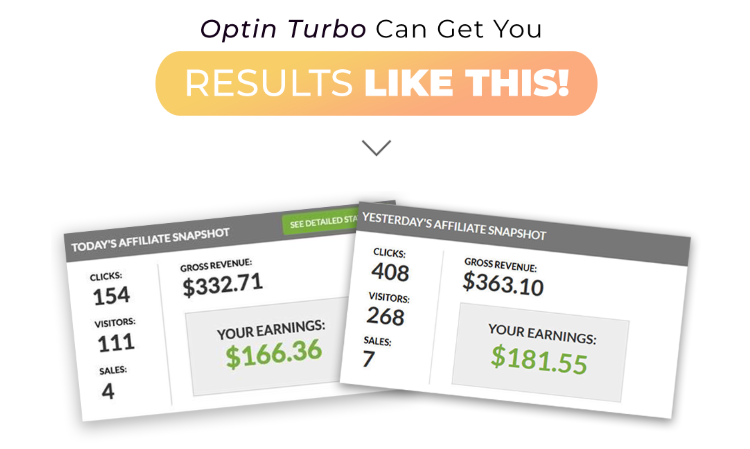 Optin Turbo Software & OTO by Billy Darr