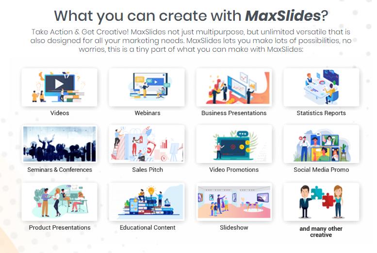 MaxSlides Templates Pack & OTO by Bayu Tara