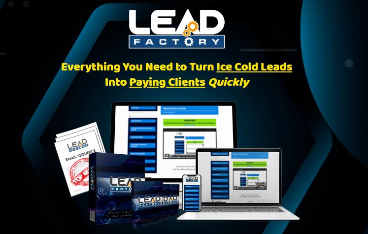 Lead Factory System & OTO by Tom Gaddis
