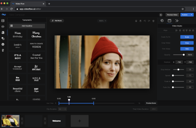 VideoFLow Software & OTO Upsell by Sam Bakker