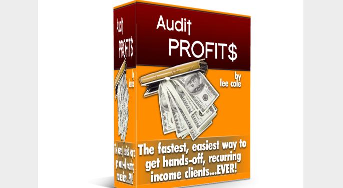 Audit Profits Pack & OTO by Lee Cole