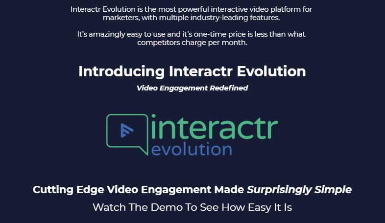 Interactr Evolution Software & OTO by Ryan Phillips