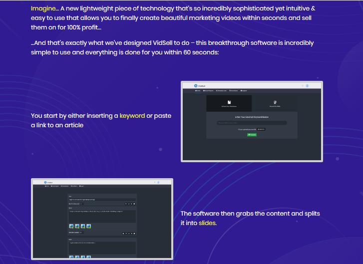 VidSell Software & OTO by Radu Hahaianu