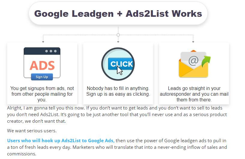 Ads2List Software & OTO by Cyril Gupta
