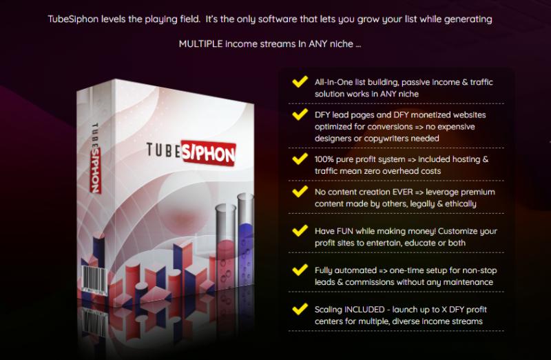 TubeSiphon PRO Software & OTO by Glynn Kosky