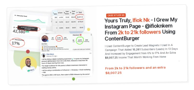 Content Burger Software & OTO by Ifiok Nkem