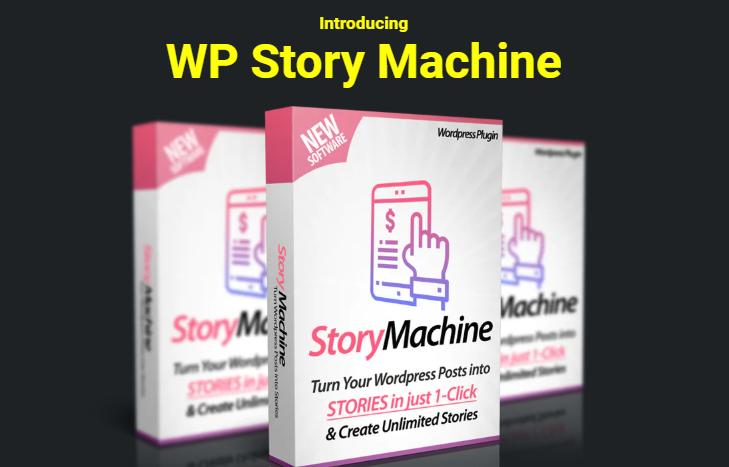 WP Story Machine Plugin & OTO by Ankur Shukla