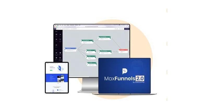 MaxFunnels PRO 2.0 Software & OTO by Amit Pareek