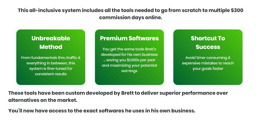 300 Dollar Day System & OTO by Brett Rutecky