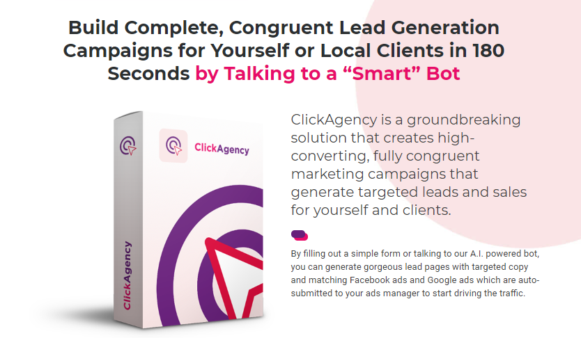 ClickAgency Software & OTO Upsell by Ben Murray