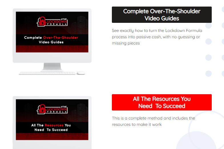 The Lockdown Formula System & OTO by Jono Amstrong