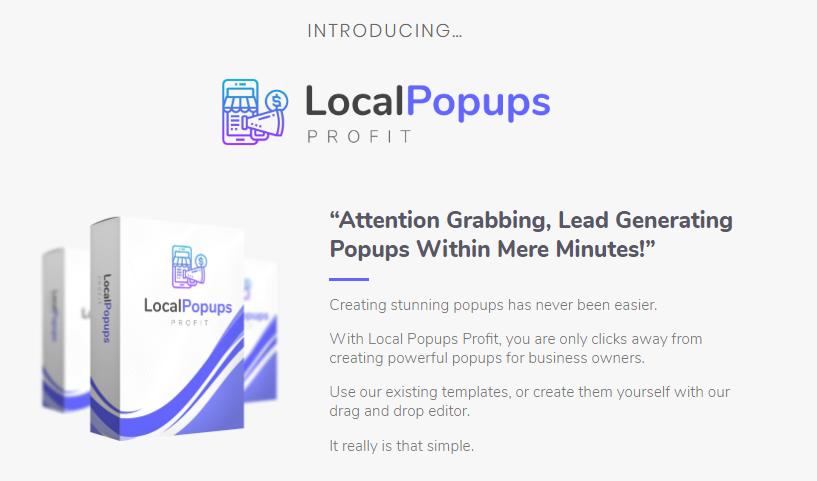 Local Popups Profit App & OTO by Mo Taqi
