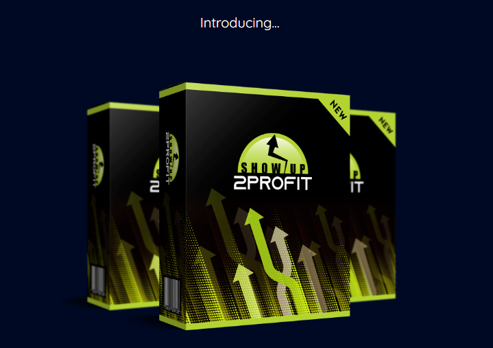 Show Up 2 Profit Training & OTO by James Renouf