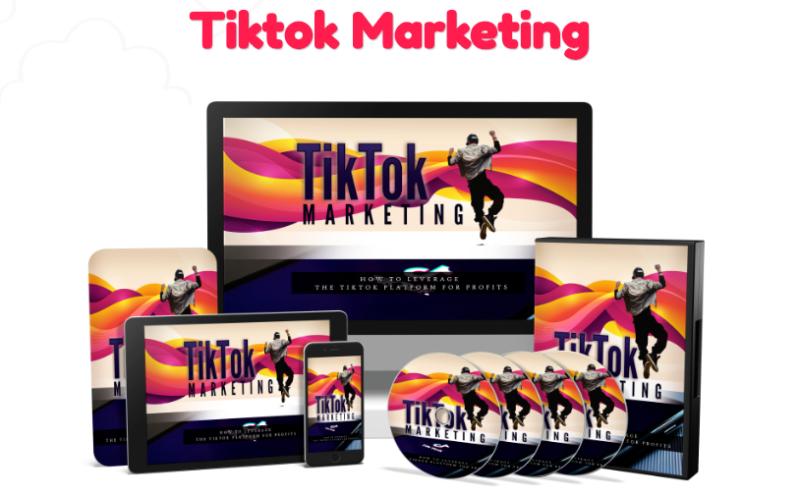 TikTok Marketing PLR & OTO by Sajan Elenthor
