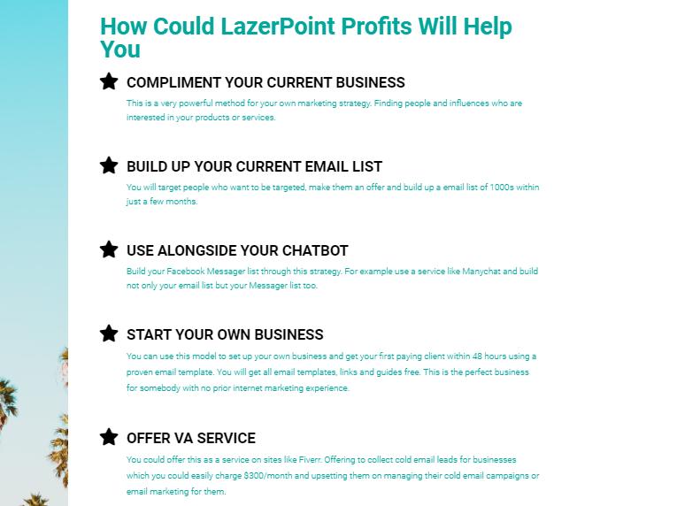 LazerPoint Profits System & OTO by Paul Tilley