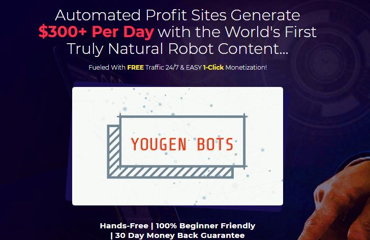 YouGen Bots Software & OTO by Brendan Mace
