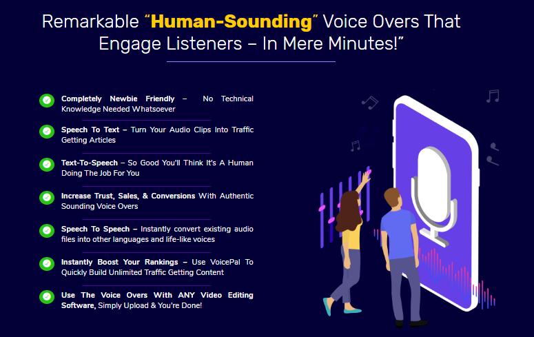 VoicePal Software & OTO by Rick Nguyen