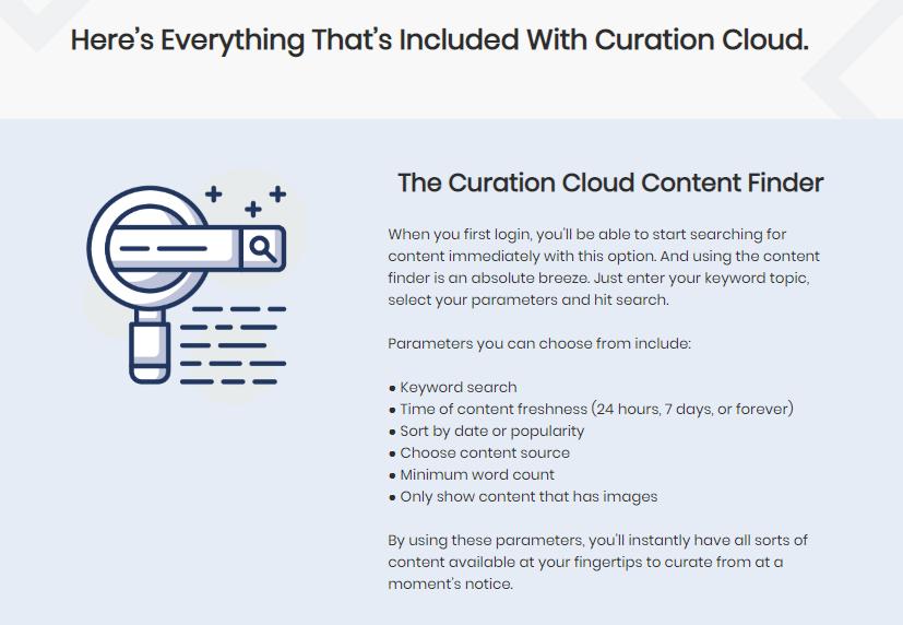 Curation Cloud Software & OTO by Richard Fairbairn