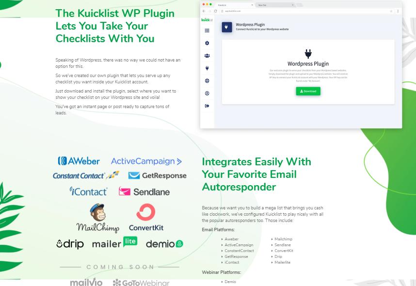 Kuicklist Software & OTO by Karl Schuckert