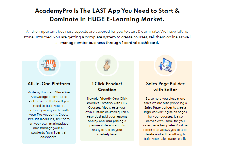 AcademyPro Builder Software & OTO by Dr Amit Pareek