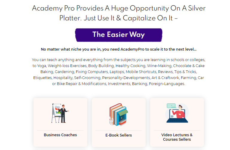 AcademyPro PRO Commercial & OTO by Dr Amit Pareek