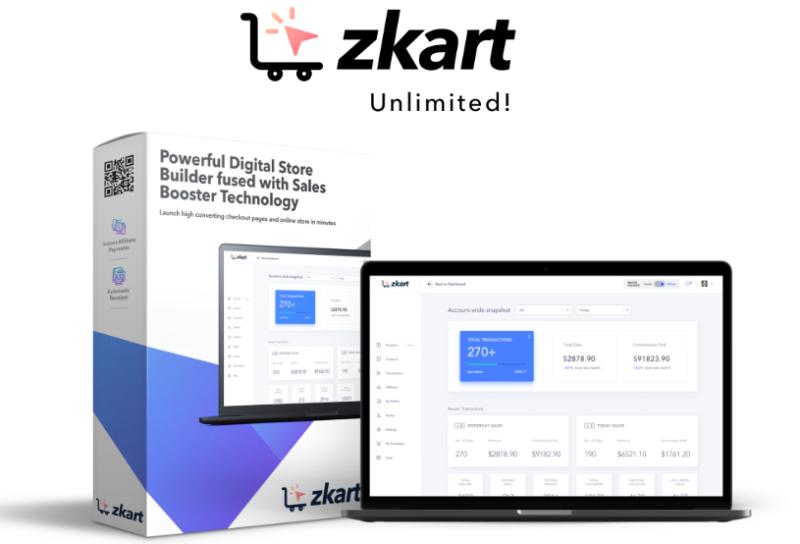 ZKart PRO Unlimited OTO & Upsell by Madhav Dutta
