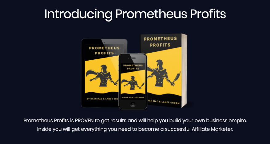 Prometheus Profits Training & OTO by Lance Groom
