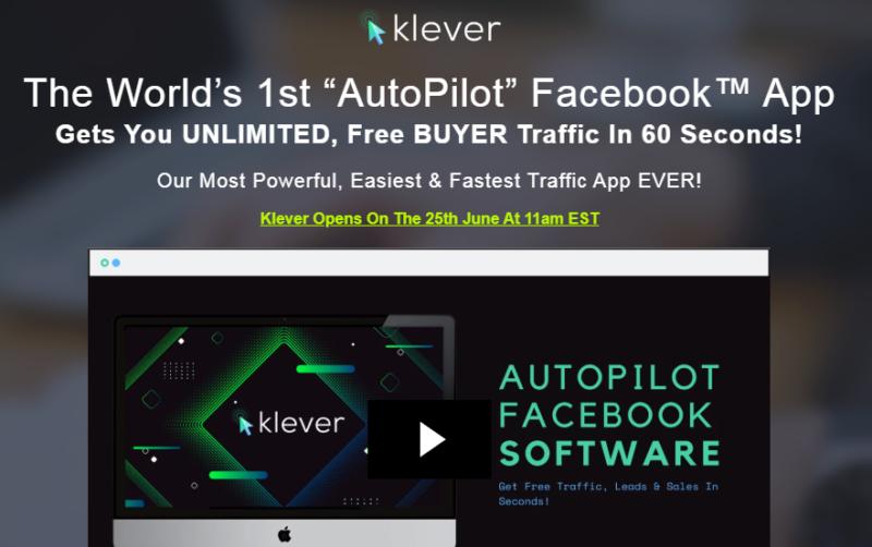 Klever PRO Software & OTO by Billy Darr
