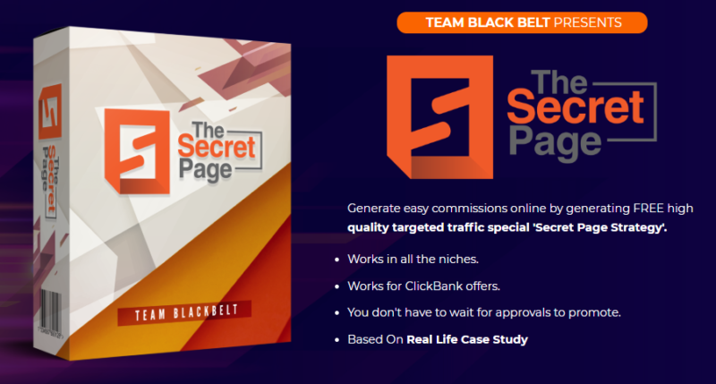 The Secret Page System & OTO by Art Flair