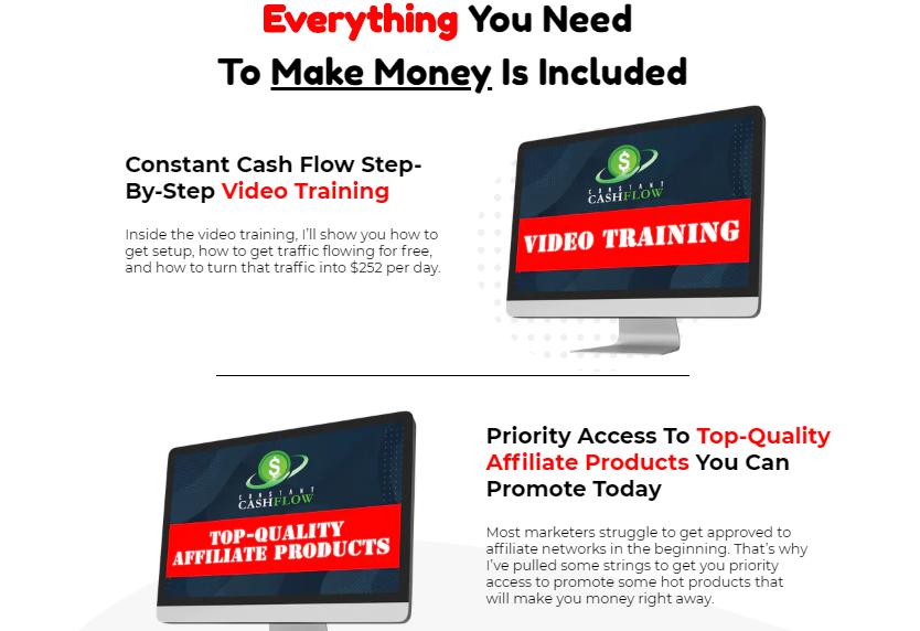 Constant Cash Flow Training & OTO by Paul Nichols