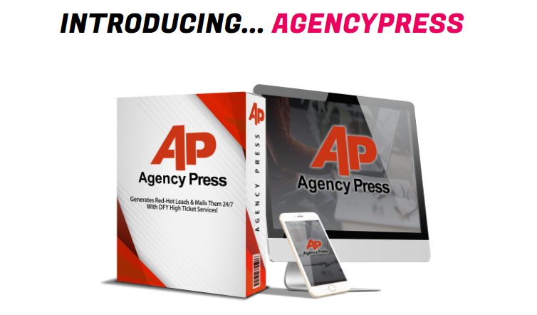 AgencyPress Plugin & OTO by Mike Mckay