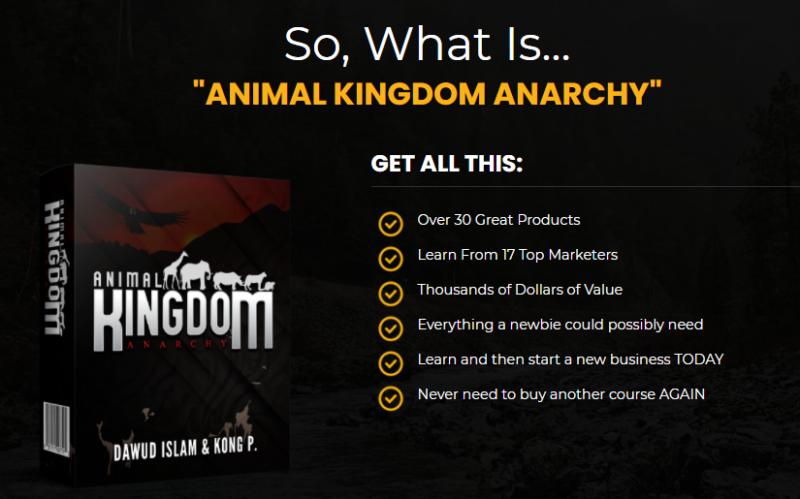 Animal Kingdom Anarchy Bundle & OTO