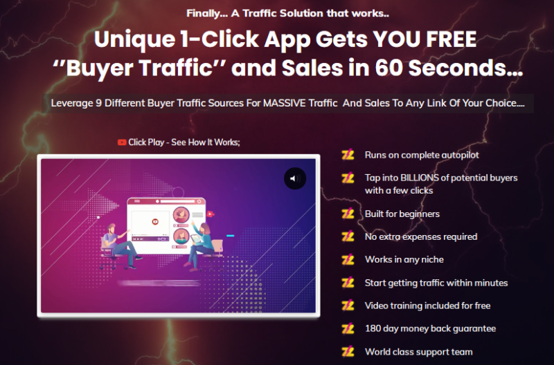 Buzz Traffic Software & OTO by Daniel Adetunji