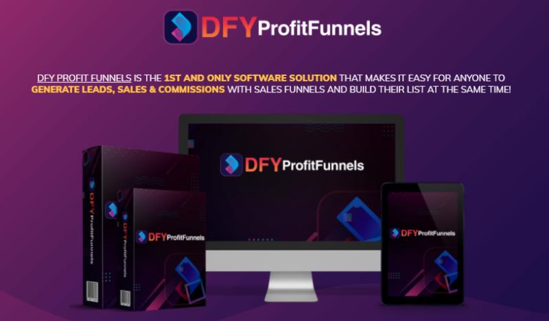 DFY Profit Funnels PRO & OTO by Glynn Kosky