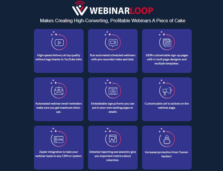 Webinarloop Pro Software & OTO by Cyril Gupta