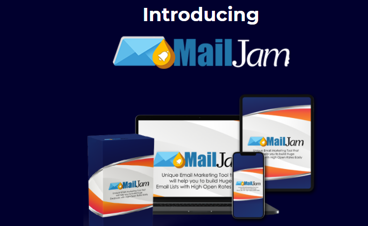 MailJam Email Software & OTO by Uddhab Pramanik
