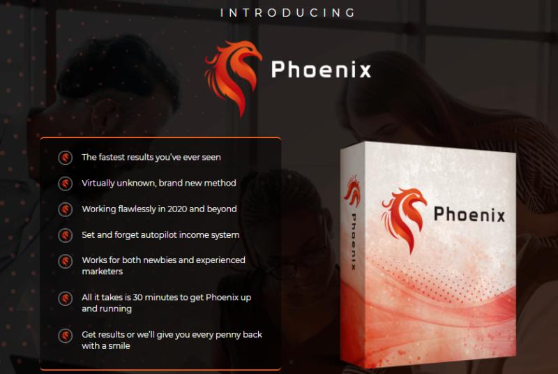 Phoenix Training System & OTO by Mark Barret