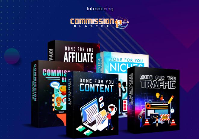 Commission Blaster App & OTO by Chris X