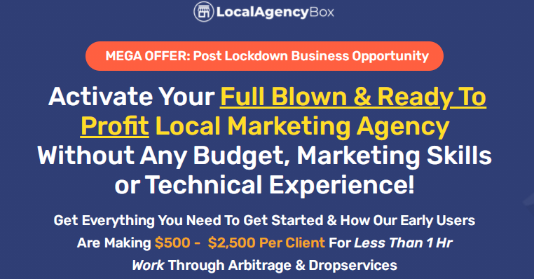 Local Agency Box Bundle & OTO by Ifiok Nkem