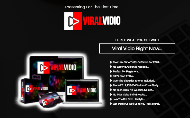 ViralVidio App Software & OTO Review by Mike Paul - Best App Software to turned a DEAD YouTube Channel into 1,137,066 views in few months by drive Unlimited Free Traffic from both Google and YouTube with just a few clicks of mouse