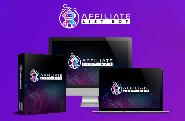 Affiliate List Bot PRO & OTO by Rick Williams - Best Bundle Software to effortlessly Creates Complete Affiliate Marketing And Resell Rights Campaigns That Get Traffic And Build Buyers Lists with Complete Done-For-You Affiliate, Funnel and Traffic Suite