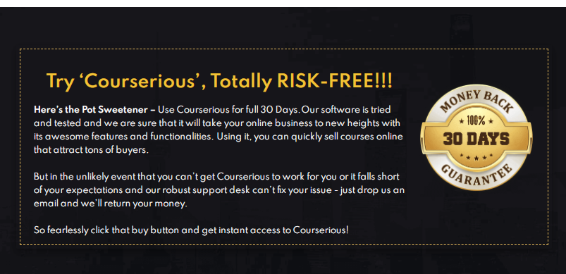 Courserious PRO App & OTO by Eric Holmlund