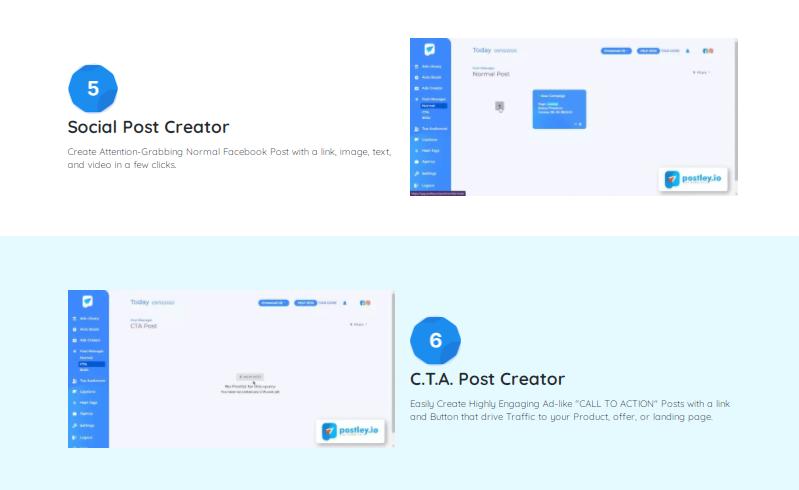 POSTLEY App Software & OTO by Jay Sharma