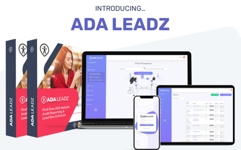 ADA LEADZ PRO & OTO Reviews by Mario Brown - Set-up Your Own ADA Agency to Create ADA Website Audits That Focuses On Helping Businesses