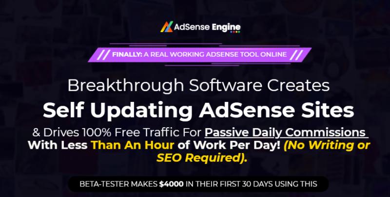Adsense Engine PRO App & OTO by Anirudh Baavra